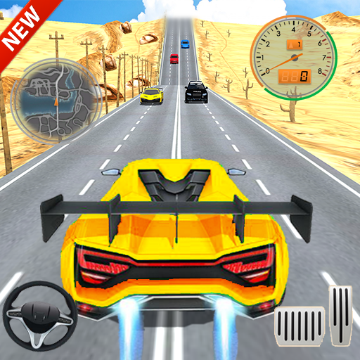 Car Racing in Fast Highway Traffic 2.1 APK MOD (Unlimited Everything)