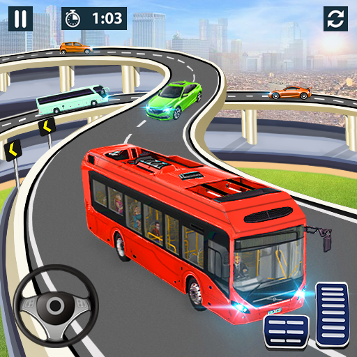 City Coach Bus Simulator 2021 – PvP Free Bus Games  1.3.38 APK MOD (Unlimited Everything)