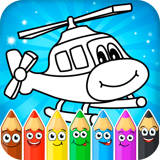 Coloring pages for children : transport 1.1.9 APK MOD (Unlimited Everything)