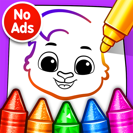 Drawing Games: Draw & Color For Kids 1.0.4 APK MOD (Unlimited Everything)