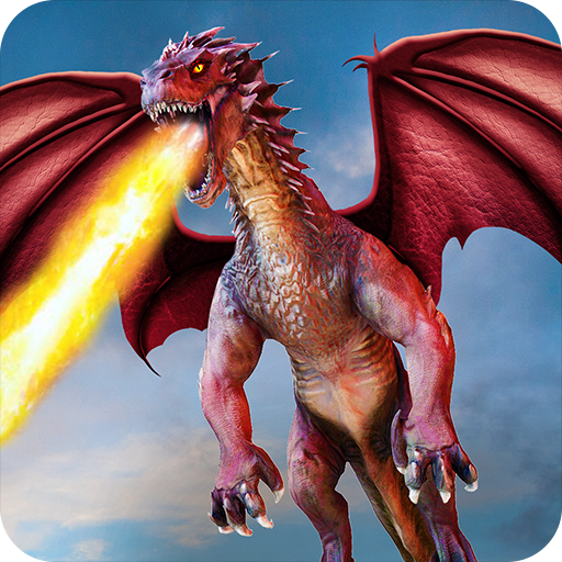 Flying Dragon Battle Simulator : City Attack 1.6.0 APK MOD (Unlimited Everything)