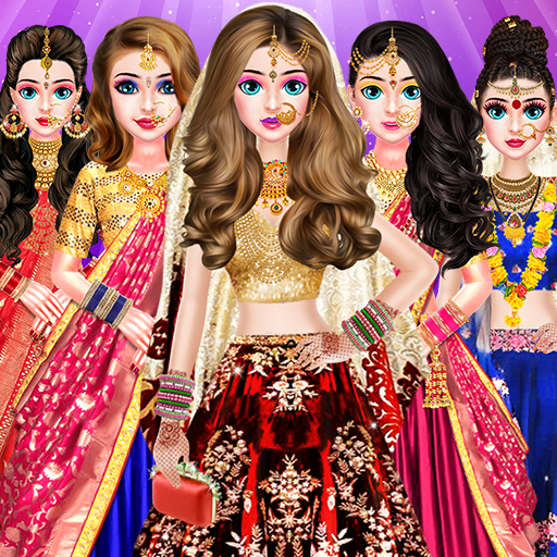 Indian Bride Stylist Dressup & Beauty Makeup Game 1.0.6 APK MOD (Unlimited Everything)