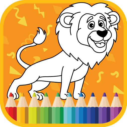 Kids Coloring Book : Cute Animals Coloring Pages 1.0.1.8 APK MOD (Unlimited Everything)