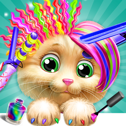 Pet Kitty Hair Salon Hairstyle Makeover 4.6 APK MOD (Unlimited Everything)