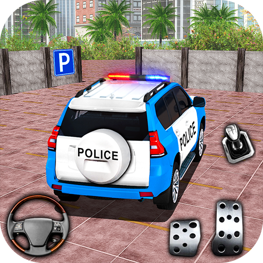 Police Spooky Jeep Parking Simulator – Car Driving  1.4 APK MOD (Unlimited Everything)