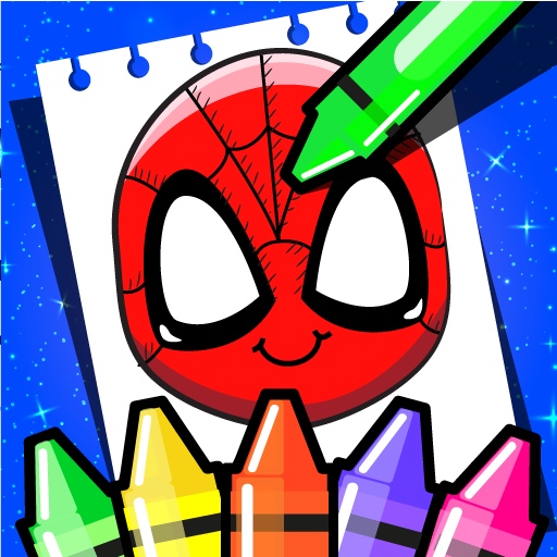 Superhero Coloring Book Game & Comics Drawing book 1.39 APK MOD (Unlimited Everything)
