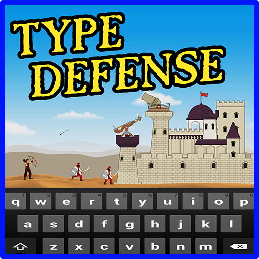 Type Defense Typing and Writing Game  1.05 APK MOD (Unlimited Everything)
