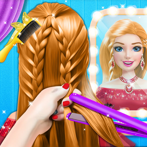 Braided Hairstyle Salon: Make Up And Dress Up 0.10 APK MOD (Unlimited Everything)