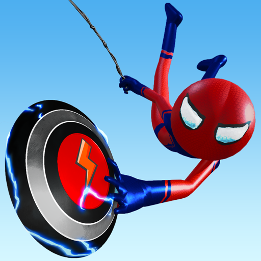 Flying Stickman Rope Hero 3.0.0 APK MOD (Unlimited Everything)