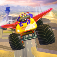Offroad Flying Monster Truck Driving 1.5 APK MOD (Unlimited Everything)