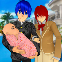 Anime Family Simulator: Pregnant Mother Games 2021 1.1.7 APK MOD (Unlimited Everything)