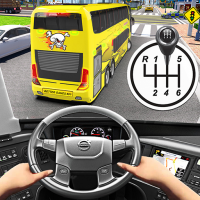 Bus Driving Simulator Games : Coach Parking School 1.7 APK MOD (Unlimited Everything)