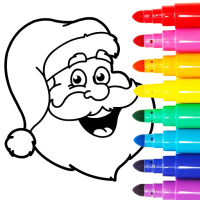 Christmas Coloring Games – Coloring Pages for Kids 8.0 APK MOD (Unlimited Everything)