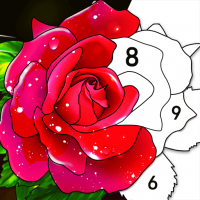 Color by Number Oil Painting Coloring Book  2.101 APK MOD (Unlimited Everything)