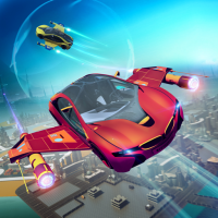 Futuristic Flying Car Racer 1.5 APK MOD (Unlimited Everything)