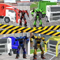 Garbage Truck Driving: Transformer Robot Cleaner 1.0.7 APK MOD (Unlimited Everything)