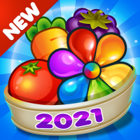 Garden Blast 2021! New Match 3 in a Row Games Free 2.2.0 APK MOD (Unlimited Everything)