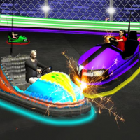 Light Bumping Cars Extreme Stunts: Bumper Car Game 5.7 APK MOD (Unlimited Everything)