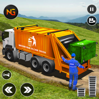 Offroad Garbage Truck: Dump Truck Driving Games 1.1.6 APK MOD (Unlimited Everything)