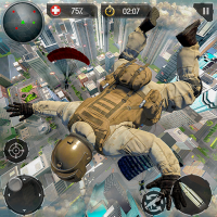 Real Commando Fire Ops Mission: Offline FPS Games 1.3.2 APK MOD (Unlimited Everything)