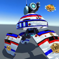 US Police Robot Shooting Crime City Game 3.1 APK MOD (Unlimited Everything)