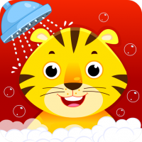 Baby Animal Bathing Game for Kids & Preschoolers 5.0 APK MOD (Unlimited Everything)