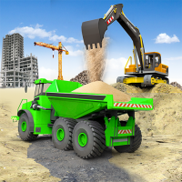 Heavy Construction Simulator Game: Excavator Games 1.0.2 APK MOD (Unlimited Everything)