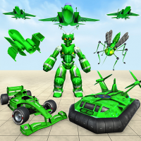 Mosquito Robot Car Games 2021 1.4 APK MOD (Unlimited Everything)